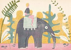 INSPIRED BY… BARBARA DZIADOSZ  Barbara is a freelance illustrator whose work I discovered via Pinterest. She specializes in print-making and character design. I was drawn to the color, texture and whimsy she expresses in her work. Below are some favorites. Enjoy!