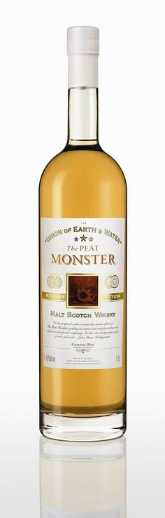 Compass Box The Peat Monster Reserve '97.8 Vatted Malt Scotch Whisky (1.75 Liter) |  Shop Scotch Whisky | ForWhiskeyLovers.com