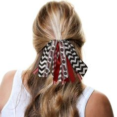 Temple Owls Women's Fantasy Fan Tail Scrunchie - $14.99