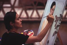The biopic of Frida Kahlo has been one of the most fought-over projects in Hollywood. On the eve of the film's release, Salma Hayek, its producer and Oscar-nominated leading actor, explains what made Kahlo great. Robin Williams, Salma Hayek, Frida Salma, Tango, Purple Bikini, Cinema, Diego Rivera, Amelie, Every Woman