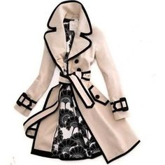 Kate Spade trench coat by Annick Gagnon