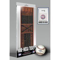 1941 MLB All-Star Game Mini-Mega Ticket - Detroit Tigers
