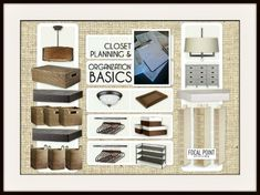 FOCAL POINT STYLING: FOCUS ON: Closet Planning & Organization Part I