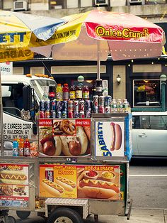 More than 3,000 hot dog stands in New York City