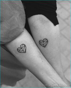 15 So small tattoos with gigantic meanings - Schwestern tattoo - Friendship Little Tattoos, Mini Tattoos, Love Tattoos, Body Art Tattoos, New Tattoos, Tattoos For Women, Tatoos, Temporary Tattoos, True Love Tattoo