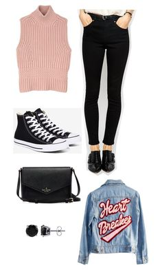 """T/S"" by rita-malakyan ❤ liked on Polyvore featuring Diesel Black Gold, Converse, ASOS, High Heels Suicide and BERRICLE"