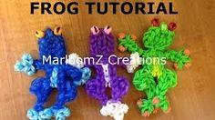 loom bands tutorial - YouTube frog