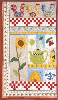 Ten Blocks, Ten Favorite Things quilt by Sandy Klop, from A Baker's Dozen - Kansas City Star Quilts book