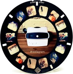 offering a new way to print and view Instagram photos. Yes, via a View-Master-like device which you can buy online alongside the photo reels.