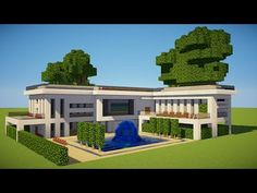 http://minecraftstream.com/minecraft-tutorials/minecraft-how-to-build-a-modern-house-2/ - Minecraft: how to build a modern house Minecraft: how to build a modern house Today i am showing you how to build a mansion in minecraft, this is a modern mansion tutorial