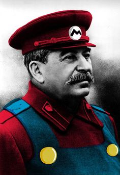 When someone says Mario has subliminal communist propaganda. Funny Picture Quotes, Best Funny Pictures, Funny Images, Tf2 Memes, Joseph Stalin, Russian Memes, Vito, Fashion Collage, Most Popular Memes
