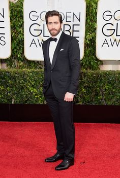 1/11/15 - Jake Gyllenhaal at the 72nd Annual Golden Globe Awards in Beverly Hills.