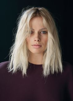 bleach blonde, long-bob (lob) haircut - Looking for Hair Extensions to refresh your hair look instantly? focus on offering premium quality remy clip in hair. Bob Hairstyles For Fine Hair, Cool Hairstyles, Hairstyles Haircuts, Blonde Hair Transformations, Lob Haircut, Platinum Blonde Hair, Platinum Bob, Looks Cool, Her Hair