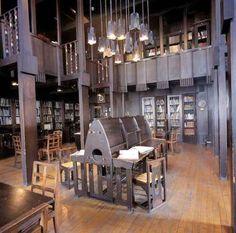 Rennie Mackintosh Library , Glasgow School of Art