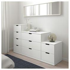 Ideas For Bedroom Ikea Nordli Design Bedroom Drawers, Ikea Bedroom, Bedroom Decor, Design Bedroom, Bedroom Storage, Bedroom Ideas, Ikea Furniture, Shabby Chic Furniture, Furniture Design