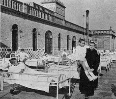 Antigua foto Hospital VALENCIA