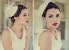 More 50's-inspired bride for my inspiration. Love it!