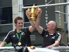 Richie McCaw & Graham Henry