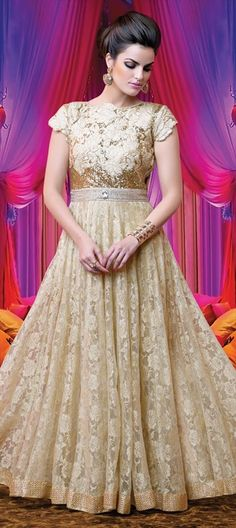 it needs to  be more form fiting SalwarKameez that looks like gown!!