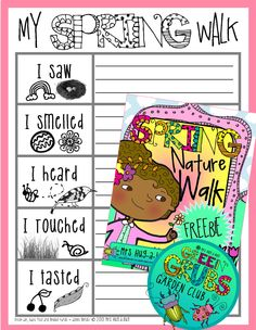 ~FREE PRINTABLE~ 'Spring into spring' after a winter indoors with this spring nature walk activity! Primary Science, Kindergarten Science, Science Classroom, Kindergarten Classroom, Preschool, Classroom Ideas, End Of Year Activities, Spring Activities, Writing Activities