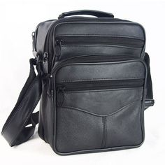 Hot Sale Fashion Designer Men Shoulder Satchel Bags Genuine Leather Crossbody  Handbags Bags For Men Messenger Business Bag Bolsa 7c45750813716