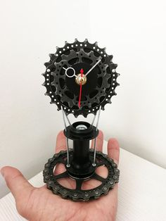 Bike gear clock bicycle gear clock gift for boys gift for