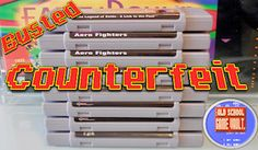 How to Spot Counterfeit / Fake Video Game Cartridges - SNES, Super Nintendo Games Super Nintendo Games, Chrono Trigger, School Games, Retro Video Games, Helping Others, Youtube, Youtubers, Youtube Movies