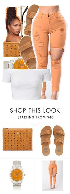 """"" by glowithbria ❤ liked on Polyvore featuring MCM and Billabong"