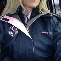 Vineyard vines rain jacket, this color! monogram necessary (size xsmall)