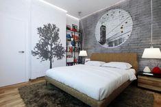 Masculine bedroom