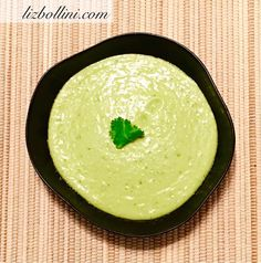 A soup served cold; purée one whole cucumber (peeled) with half of an avocado, fourth of a jalapeño, add 1 cup water. Season with Braggs Aminos or Himalayan salt to taste. #healthyfood #healthyrecipe #vegan