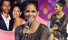 Halle Berry was spotted on stage at the Essence Festival on Friday. The 50-year-old actress stunned in a sheer floral number as she participated in a question and answer period for the annual fete.