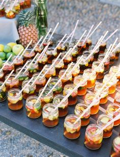 Pims as a welcome drink