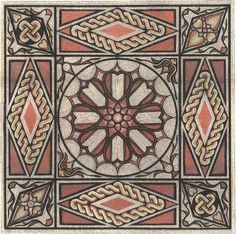 Los mosaicos geométricos de Castor, Peterborough (Inglaterra). | Matemolivares