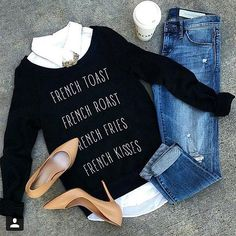Project Social T 'French Kiss' Graphic Sweatshirt | Nordstrom