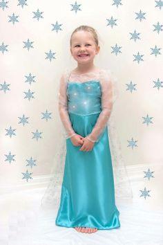 182f54ebcc94 Gorgeous handmade Elsa inspired costume fancy dress We add the sparkle! A  beautiful handmade dress