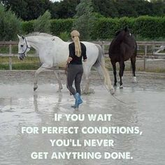 If you wait for better conditions, you will never get anything done. www.arc4life.com