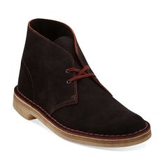 Desert Boot in Brown Suede - Mens Boots from Clarks