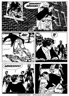 Pagina 48 - L'alba dei morti viventi - lo speciale #Halloween de #iSarcastici4. #LuccaCG15 #DylanDog #fumetti #comics #bonelli