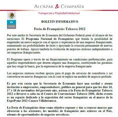 #Feria de #Franquicias #Tabasco 2012