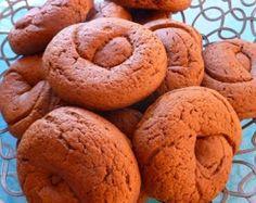 Τραγανά μουστοκούλουρα Eat Greek, Greek Sweets, Bagel, Biscuits, Muffin, Cooking Recipes, Cookies, Bread, Breakfast