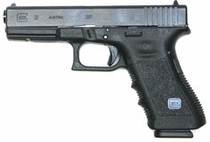 Glock 31 - Full sized pistol chambered for .357 SIG.