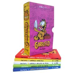 Livro - Box Garfield - 05 Volumes - Jim Davis - Infantis no Pontofrio.com