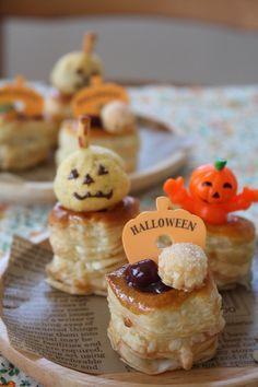 ハロウィンかぼちゃのパイ