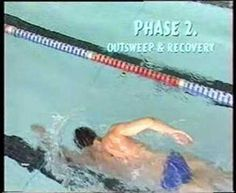 Alexander Popov swimming technique - check out the reach in front