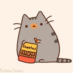 Peluche del gato Pusheen | Todokawaii