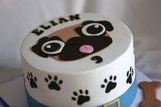pastel de pug - Buscar con Google