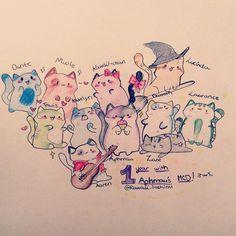neko atsume cats aphmau so cute Aphmau Characters, Minecraft Characters, Aarmau Fanart, Aphmau Memes, Aphmau And Aaron, Zane Chan, 4 Panel Life, Kawaii Chan, Neko Atsume