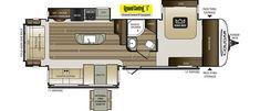 Keystone RV 32RLI floorplan