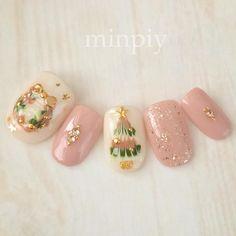 Christmas✞✯ #christmas #gelnails #naildesighn #nails #xmasnails #クリスマスネイル #クリスマス #minpiy